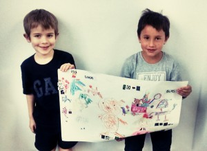 Luca and Blas Poster